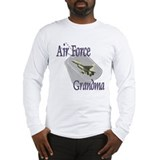 Jet Air Force Grandma Long Sleeve T-Shirt