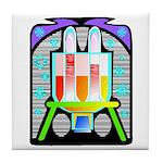 lab equipment Tile Coaster