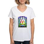 lab equipment Women's V-Neck T-Shirt