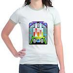 lab equipment Jr. Ringer T-Shirt