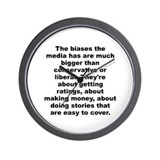 Al franken quote Wall Clock