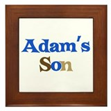 Adam's Son Framed Tile