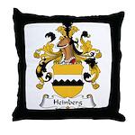 Heinberg Family Crest Throw Pillow