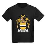 Heinberg Family Crest Kids Dark T-Shirt