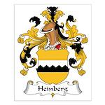 Heinberg Family Crest Small Poster