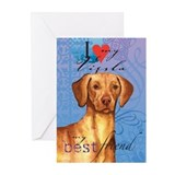 Vizsla Greeting Cards (Pk of 10)