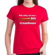 Funny Trombone Player Tee