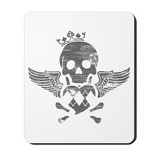 Winged Skull Mousepad