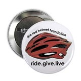 "Red Helmet 2.25"" Button (10 pack)"