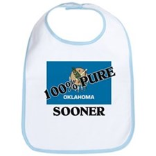 100 Percent Sooner Bib