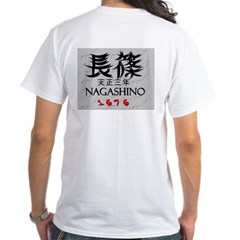White NAGASHINO T-Shirt