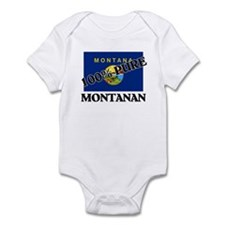 100 Percent Montanan Infant Bodysuit