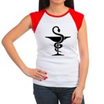 Bowl of Hygeia Women's Cap Sleeve T-Shirt
