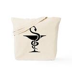 Bowl of Hygeia Tote Bag