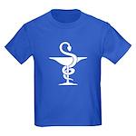 Bowl of Hygeia Kids Dark T-Shirt