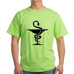 Bowl of Hygeia Green T-Shirt