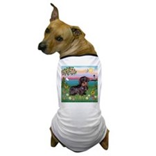 Lighthouse / Dachshund Dog T-Shirt