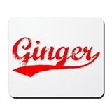 Vintage Ginger (Red) Mousepad