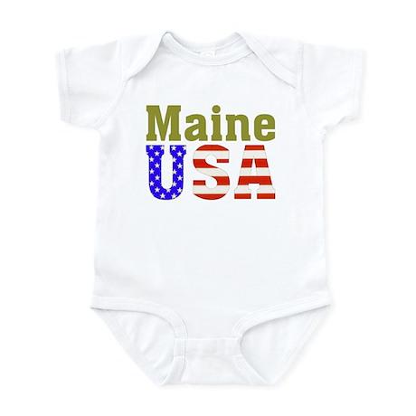 Maine USA Infant Bodysuit
