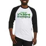 Kiss Me Irish Birthday Baseball Jersey