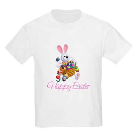 Happy Easter Bunny Kids Light T-Shirt