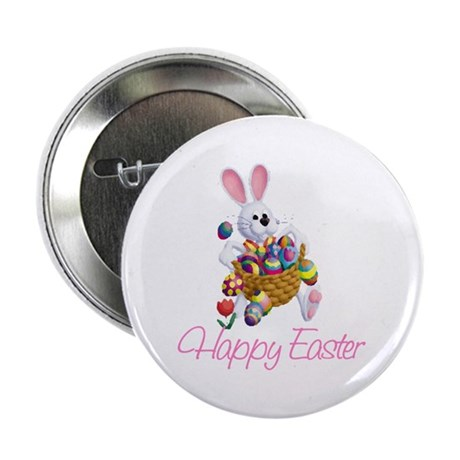 "Happy Easter Bunny 2.25"" Button (100 pack)"