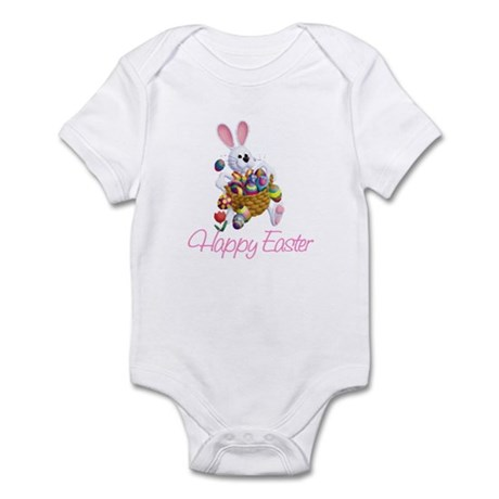 Happy Easter Bunny Infant Bodysuit