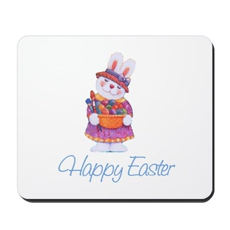 Happy Easter Bunny Mousepad