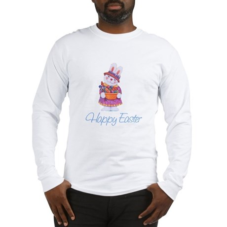 Happy Easter Bunny Long Sleeve T-Shirt