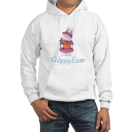 Happy Easter Bunny Hooded Sweatshirt