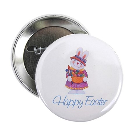 "Happy Easter Bunny 2.25"" Button (10 pack)"