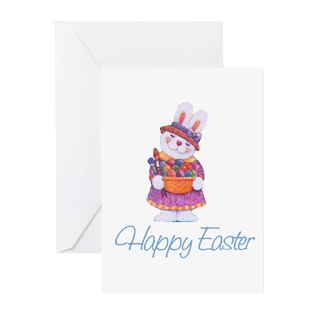 Happy Easter Bunny Greeting Cards (Pk of 20)