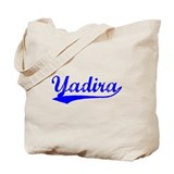 Vintage Yadira (Blue) Tote Bag