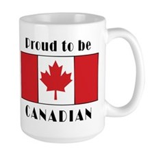 Proud Canadian Coffee Mug 15 oz