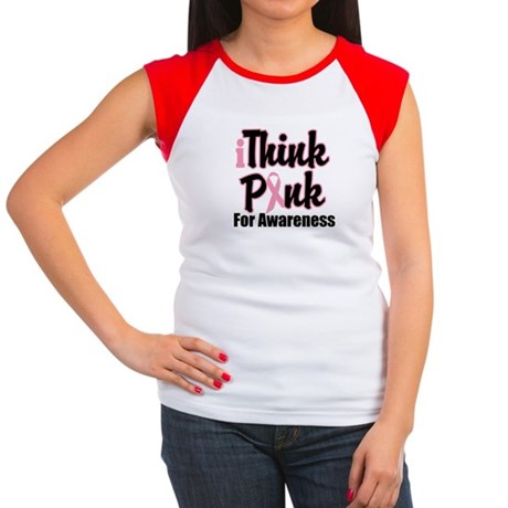 iThinkPink Awareness Women's Cap Sleeve T-Shirt