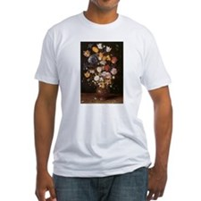 Flowers painting Brueghel 1600s Shirt