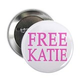 FREE KATIE - pink original Button (100 pack)