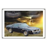 Trans Am Art 3 Garage Banner