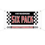 440 Magnum Six Pack Garage Banner