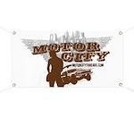 Motor City Threads Grunge Garage Banner