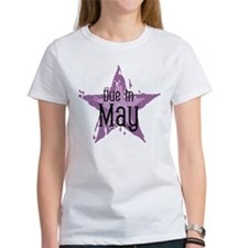 Purple Star Due In May Tee