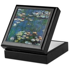 Waterlilies by Claude Monet Keepsake Box