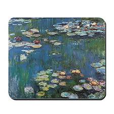 Waterlilies by Claude Monet Mousepad