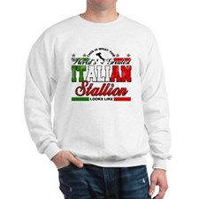 World's Greatest Italian Stallion Sweatshirt