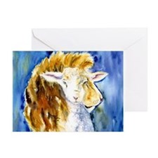 Lion & Lamb Greeting Cards Pk of 20