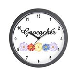 Geocacher Asters Wall Clock