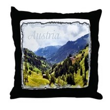 ...Tyrolean View... Throw Pillow