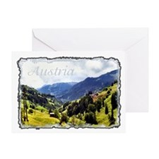...Tyrolean View... Greeting Card