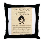 Belle Starr Throw Pillow