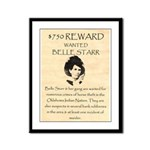 Belle Starr Framed Panel Print